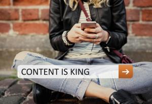 content is king tjäna pengar på blogg