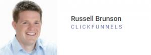 Clickfunnels Russel Brunson